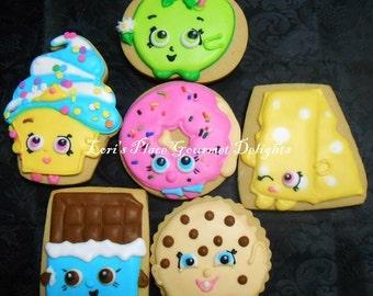Food Friends Cookies - 12 Cookies