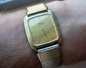 Ultra thin Seiko Dress Watch  - Working/Keeping time.