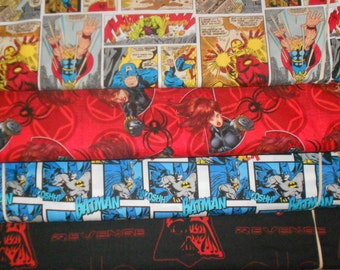 SUPER HEROS #10  Fabrics, Sold INDIVIDUALLY not as a group, by the Half Yard