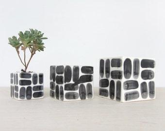 Medium Brick Square Planter - Made to Order