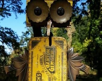 Large OOAK Assemblage Owl