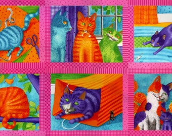 """Weekly Special! Weekly Special! Prisma Cats 24""""x44"""" Panel Pink"""