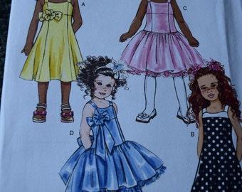 Butterick B5845 Children's/Girls Dress  150th Anniversary (uncut) sizes 6-7-8