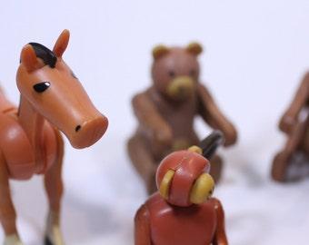 70's Fischer Price animals