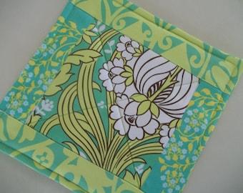 Modern Pot Holder Boho Mod Amy Butler Fabric Hotpad