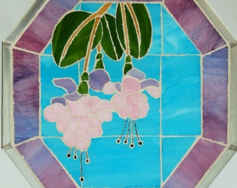 Fuschias Mosaic Panel