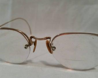 Antique gold filled bifocals