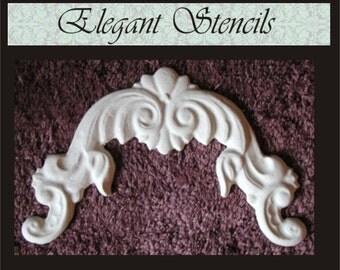 Plaster Mold, Dora Arch Plaster Mold Clay Mold Push Mold Cast Plaster