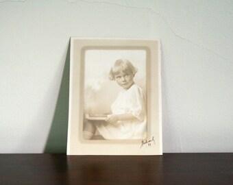 Vintage Photo of Blonde Child