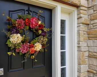 Wreath, Door Wreaths, Front Door Wreath, Indian Summer Wreath, Fall Wreath, Fall Wreaths, Autumn Wreaths, Wreath for Fall, Wreath for Autumn