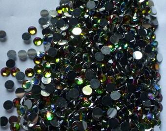 Rhinestones Vitrail AB SS16 Lyrical Flatback 48 pieces NON Hot Fix for Lyrical Dance, Bridal, Veils, Garters, Masks, Crafts
