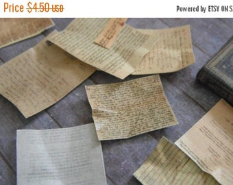 ON SALE Miniature Antique Papers