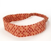 50% off Clearance Sale - Tribal Orange Headband -- SALE -- only small and large remain