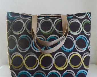 Rotary Rainforest BIG Carry All Tote Bag - Ready to Ship
