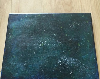 small galaxy painting