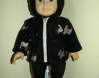 Hoodie and leggings for 18 inch doll