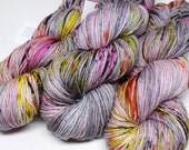 Squish DK - 250 yards -  Hand Dyed Yarn - Superwash Merino - Killer Queen