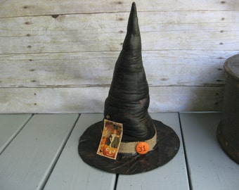 Primitive Halloween Decorations Witch Hat Wicked Witch Party Favors