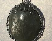 Grey Aquamarine Pendant
