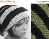 ON Sale Tube Hat Dread Sock Wrap Headband Dread Black and Khaki Band Small Medium Large