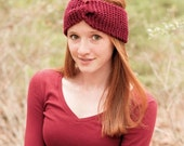 ON Sale Knitted Headband Ear warmer Chunky Knit WideTurban Style  Hairband Other Colours