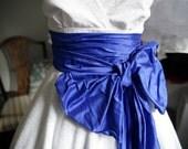 Sample Sale - June reserved for E - 1950s Tea Length Wedding Dress, broderie anglais