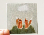 hilltop / original painting on canvas