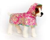 Fancy: Dog Raincoat, Waterproof Dog Coat, Dog Raincoat with Hood, Raincoats for Dogs