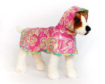Fancy: Dog Raincoat, Waterproof Dog Coat, Dog Raincoat with Hood, Raincoats for Dogs