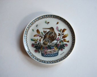 Vintage Decorator Plate, Hutschenreuther, Germany