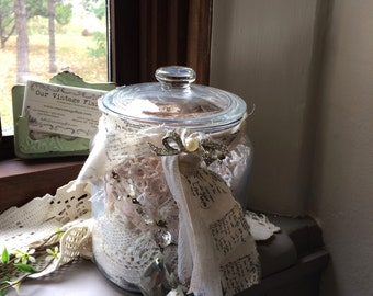 Vintage Laces and Trims - Jar of Lace - Ivory Laces and Trims - Lace Supply