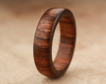 Size 5.5 - Tamboti Wood Ring No. 254