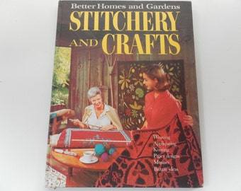 Stitchery and Crafts vintage Better Homes and Gardens Book 1966