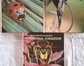 3 Vintage Volumes (14, 15, 16) of The Illustrated Encyclopedia Of The Animal Kingdom