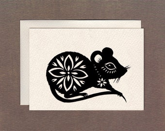 Mousie - Notecard
