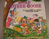 Vintage Walt Disney 1962 / More Mother Goose / L.P. / Walt Disney Music of Canada/Limited # 1225