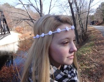 White Flower Headband: The Innocent