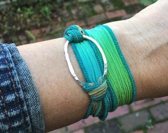 Wrap Bracelet in Sterling Silver