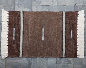 Hand Woven 2 x 3 Llama Rug (#S10)
