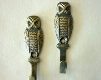 SALE Owl Hooks
