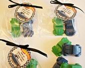 Race Car Classic Cars NASCAR Baby Shower Hot Wheels Matchbox Cars Hot Rod Party Favors Handmade Soap (20 complete favors with tags-40 soaps)