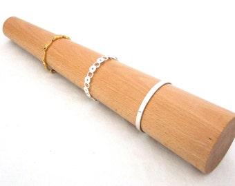 Large Round Solid Wood Bracelet Mandrel