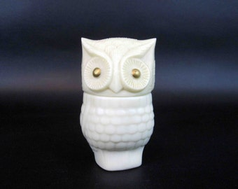 "Vintage Avon ""Precious Owl"" Shaped Bottle. Circa 1970's."