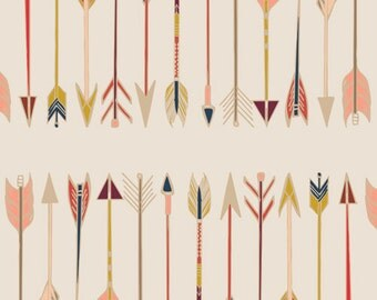 Fletching Chant Wild & Free by Maureen Cracknell Art Gallery Fabric, Choose your cut