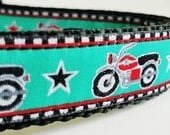 Moto Mutt - Dog Collar / Handmade / Adjustable / Pet Accessory / Motorcycle / Harley / Indian / Pet Lover