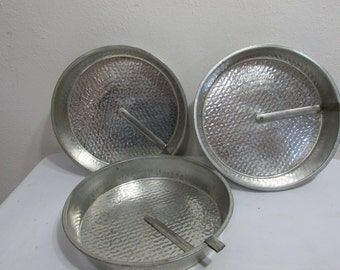 Round Cake Pans with Easy Release Slider Set of 3