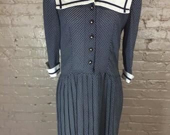 Vintage Sailor Babydoll Style Dress