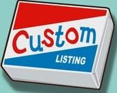 custom listing for TheGoodLife8