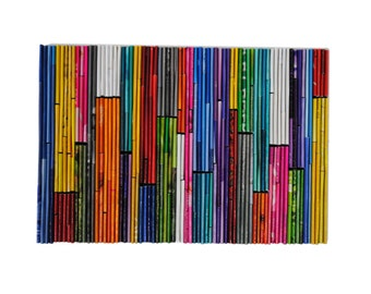 color-blocking wall art- made from recycled magazines, colorful, unique , red, orange, yellow, blue, teal, white, purple, pink, green, grey