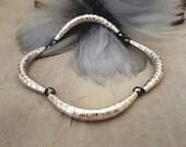 Silver Cuff Bracelet karen Hill Tribe sterling silver jewelry pyrite gemstone boho luxe wedding gift